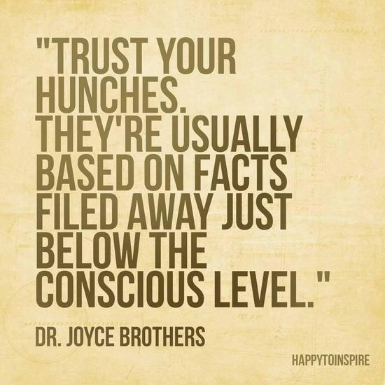 Trust Your Intuition Quote 5 Picture Quote #1