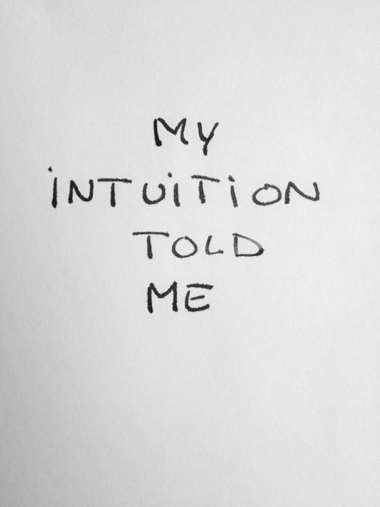 Intuition Quote 3 Picture Quote #1