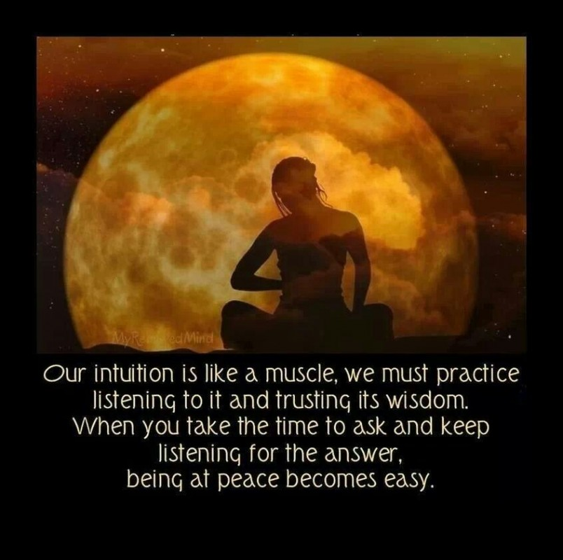 Follow Your Intuition Quote 2 Picture Quote #1