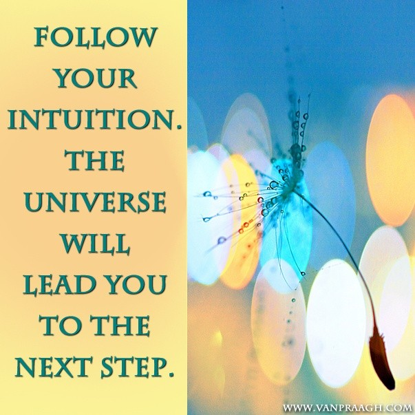 Follow Your Intuition Quote 3 Picture Quote #1