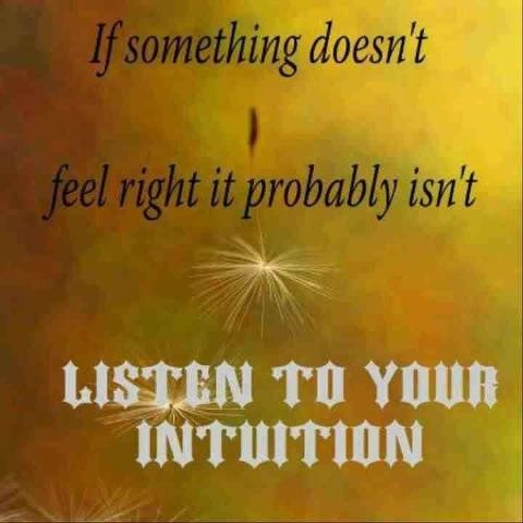 Intuition Quote 6 Picture Quote #1