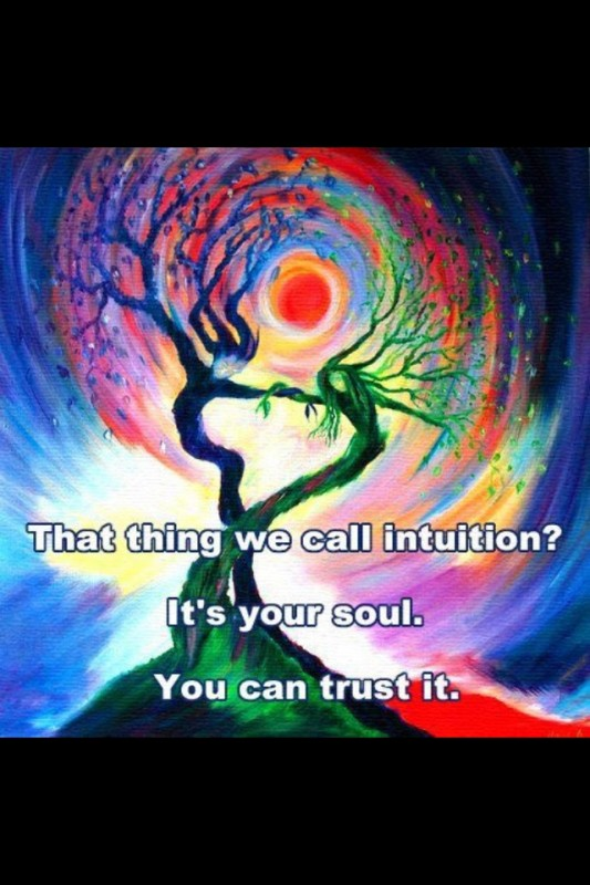Intuition Quote 7 Picture Quote #1
