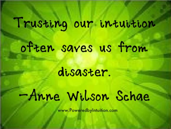 Intuition Quote 12 Picture Quote #1