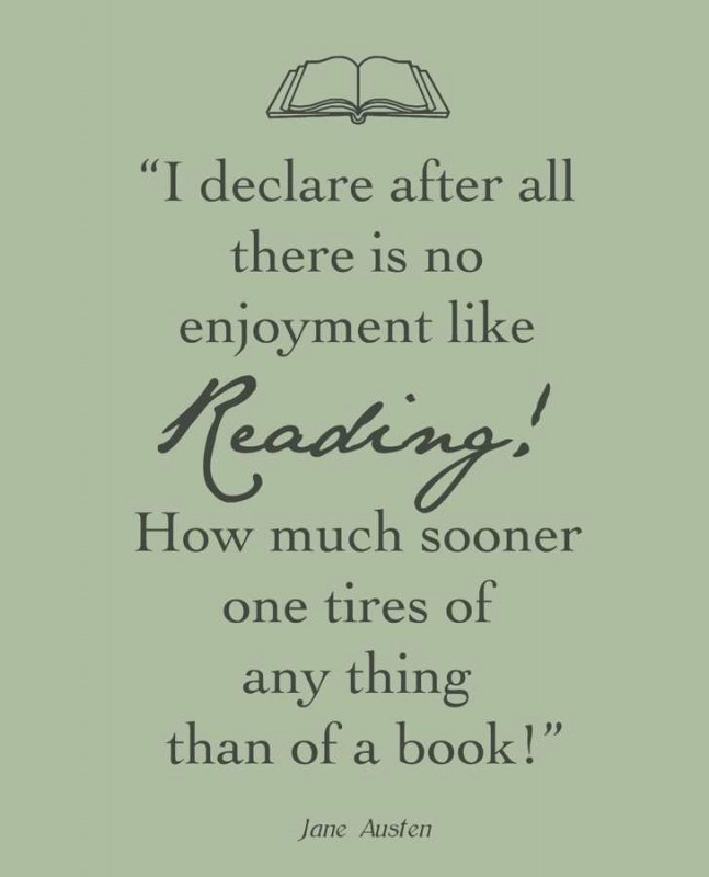 Literary Quote About Reading 1 Picture Quote #1