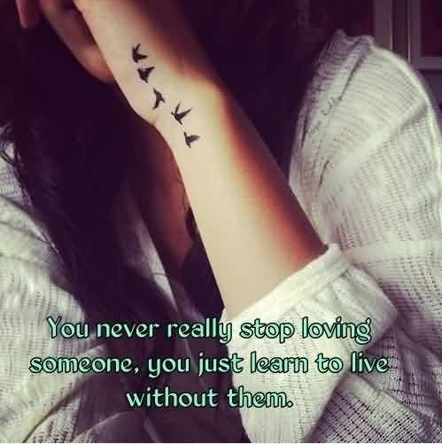 Stop Loving Someone Quote 3 Picture Quote #1