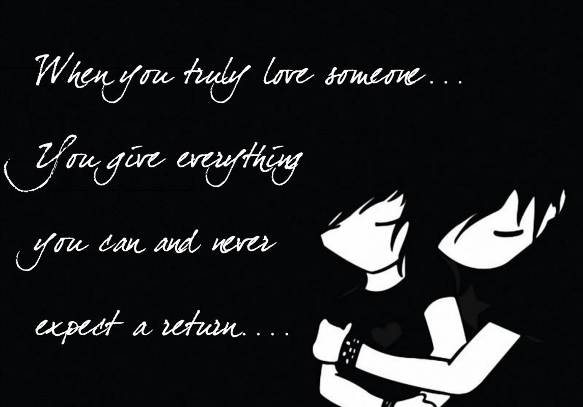 Quote About Truly Loving Someone 1 Picture Quote #1