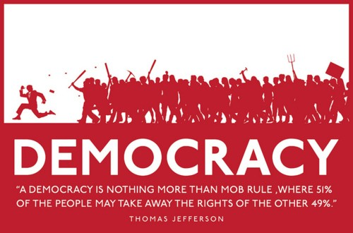 Democracy Quote 1 Picture Quote #1