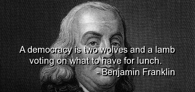 Failure Of Democracy Quote 1 Picture Quote #1