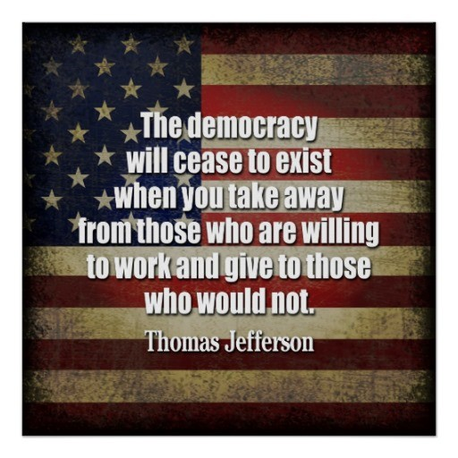 America Democracy Quote 3 Picture Quote #1