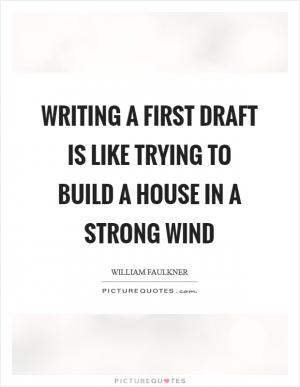 What does this quote, by William Faulkner;