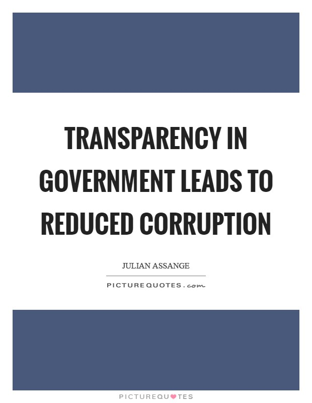transparency in our government Provide oracle employees with a resource they can use to support our customers efforts for transparency in government history of transparency open government or transparency is not a new concept its modern roots can be traced back to efforts by democratic societies to bring openness to government dealings many.