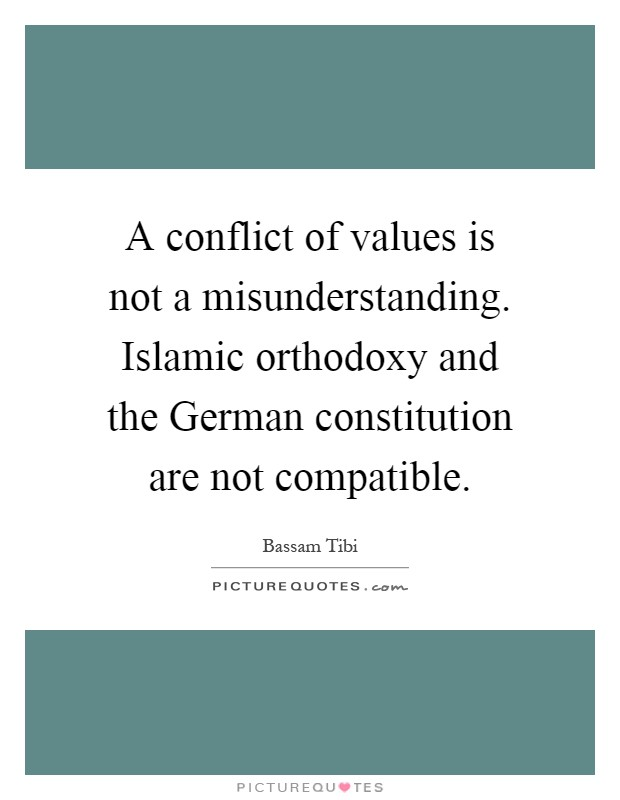 Value conflict quotes
