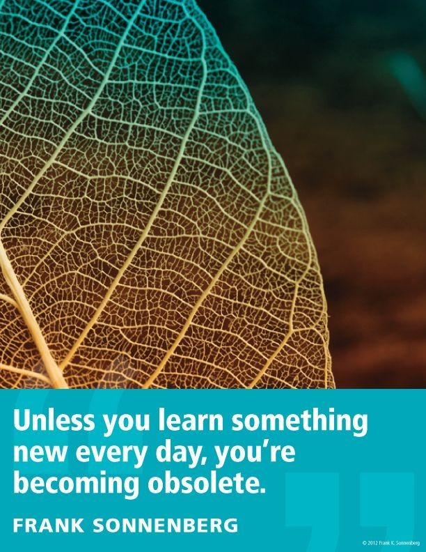 Learn Something Everyday Quote 1 Picture Quote #1
