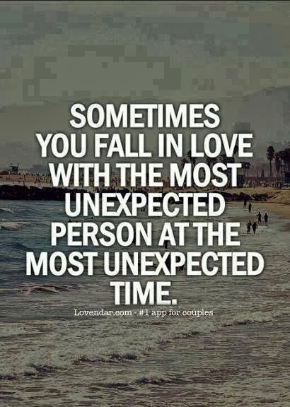 Unexpected Love Quote | Quote Number 668070 | Picture Quotes