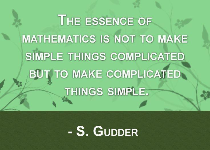 Mathematics Quote 1 Picture Quote #1