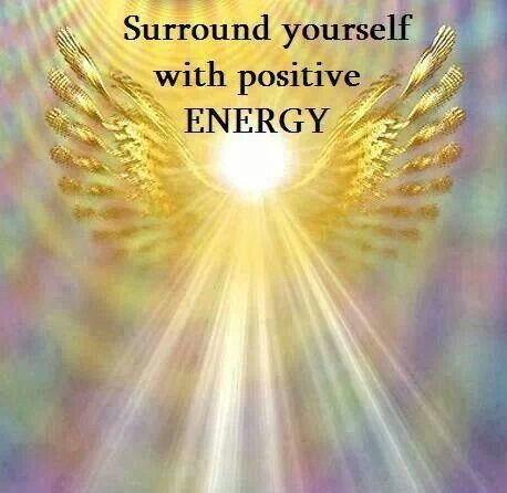 Surround Yourself With Positive Energy Quote 1 Picture Quote #1
