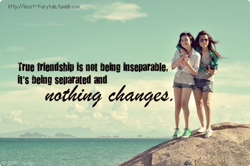 Long Distance Friendship Quote 2 Picture Quote #1