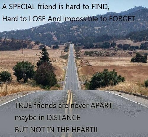 Long Distance Friendship Quote 3 Picture Quote #1