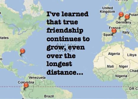 Long Distance Friendship Quote 8 Picture Quote #1