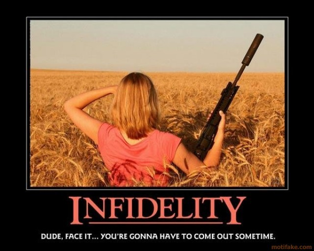 Funny Infidelity Quote 1 Picture Quote #1