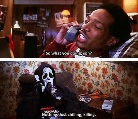 Funny Quote From Horror Movies 1 Picture Quote #1