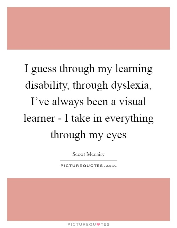 the description of the learning disability dyslexia