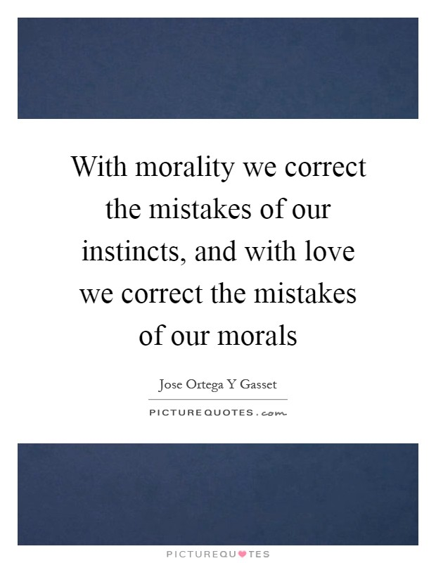 morality and correct answer Morality is the answer it's too bad that ethics or morality should have to still i find this differentiation between morals and ethics somewhat correct.