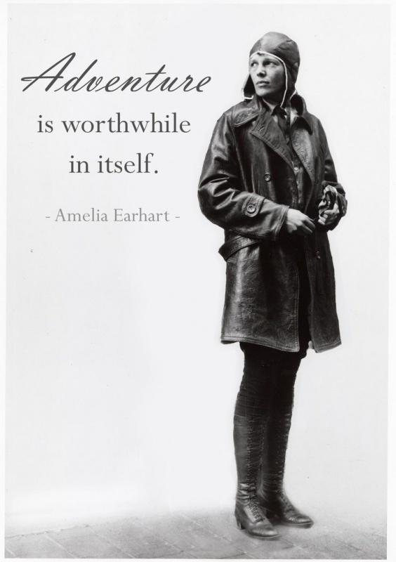 Adventure is worthwhile in itself Picture Quote #1