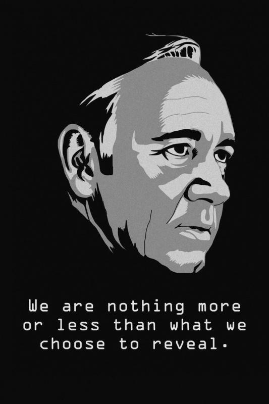 We are nothing more or less than what we choose to reveal Picture Quote #1