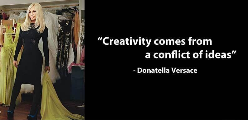Creativity comes from a conflict of ideas Picture Quote #1