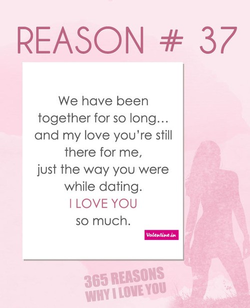 Reasons Why I Love You Quote 2 Picture Quote #1