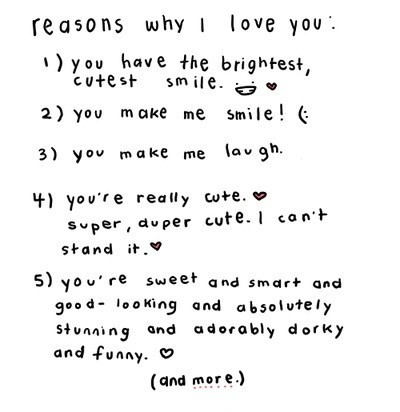 Reasons Why I Love You Quote 3 Picture Quote #1