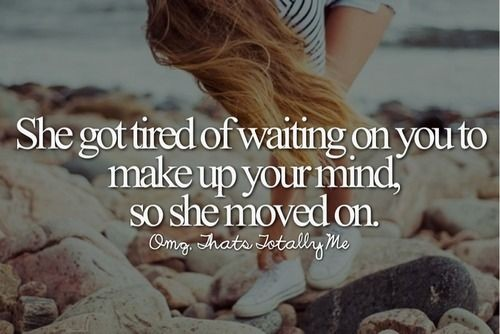 She Moved On Quote 1 Picture Quote #1