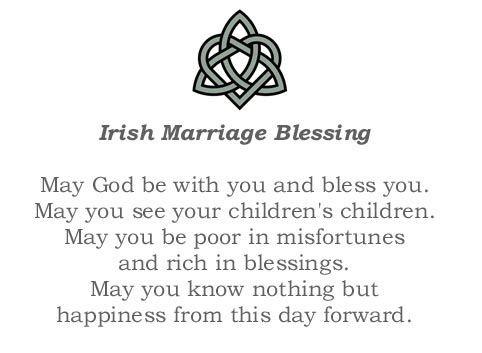 Irish Wedding Toast Quote 2 Picture Quote #1