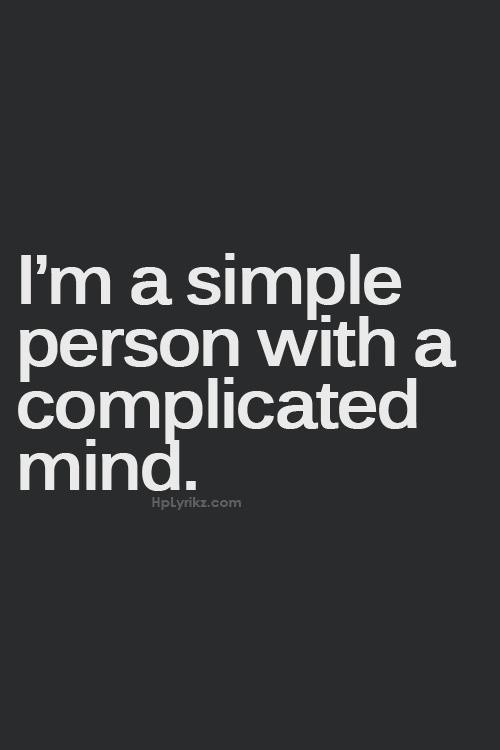 Im Complicated Quote 1 Picture Quote #1