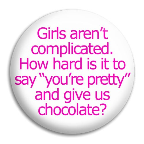 Girls Arent Complicated Quote 1 Picture Quote #1