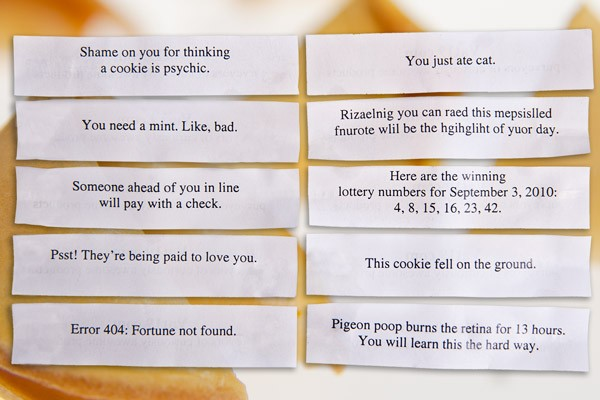 Motivational Saying Motivational Fortune Cookie Message: Fortune Cookie Quotes & Sayings