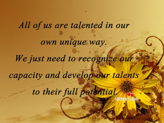 Practice Your Talent Quote 1 Picture Quote #1