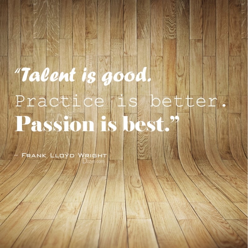 Talent Quote 2 Picture Quote #1