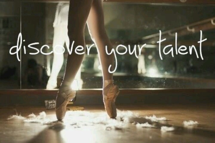 Discovering Talent Quote 1 Picture Quote #1