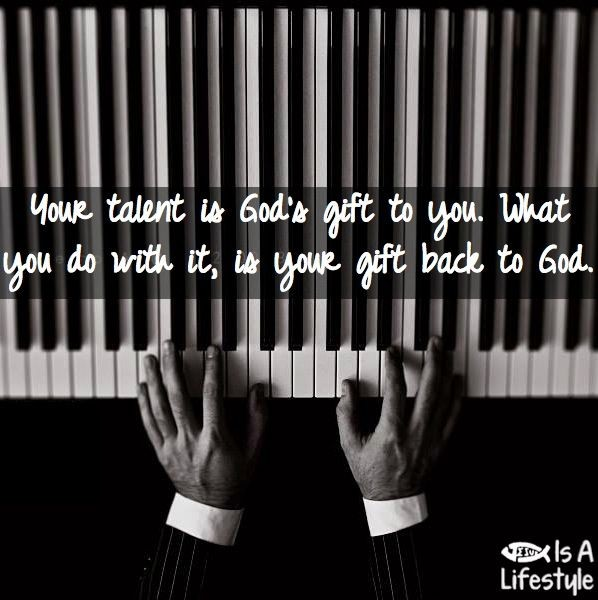 Musical Talent Quote 1 Picture Quote #1