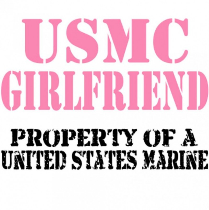 Marine Girlfriend Quotes & Sayings | Marine Girlfriend Picture Quotes