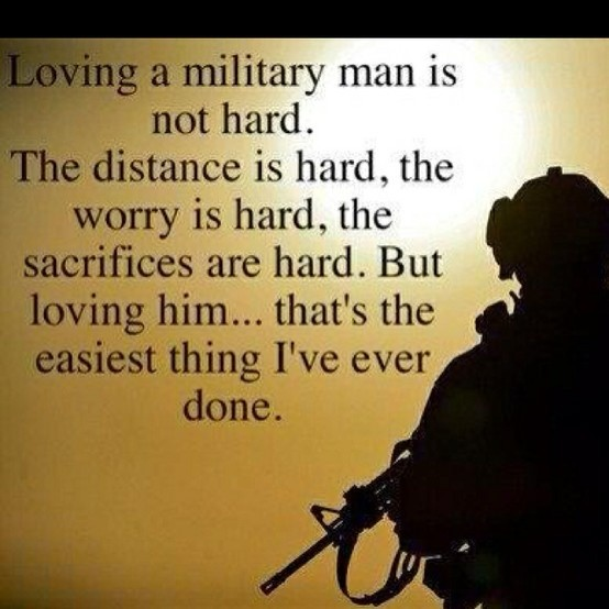 Army Girlfriend Quote 10 Picture Quote #1