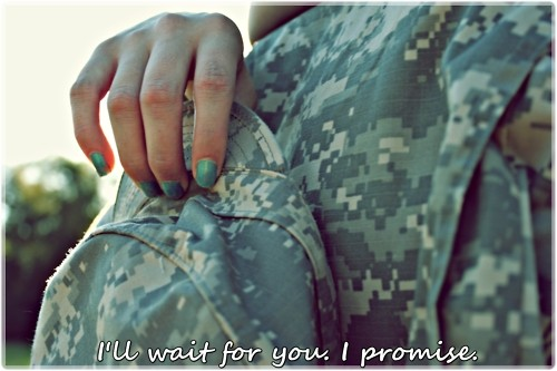 Army Girlfriend Quote 13 Picture Quote #1
