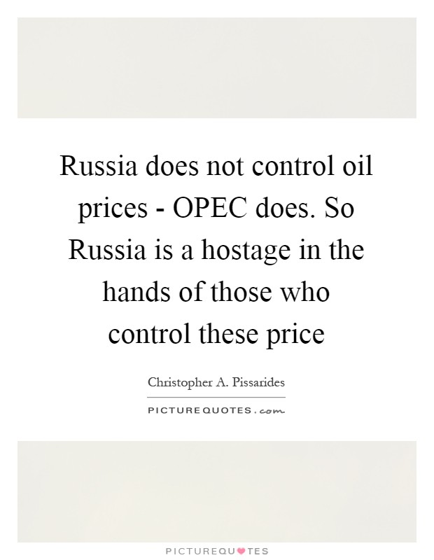 Who Really Controls Oil Prices?