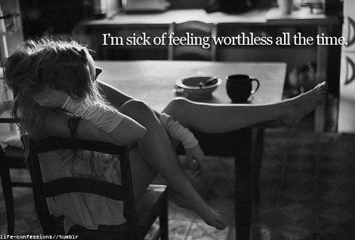 Being Worthless Quote 1 Picture Quote #1
