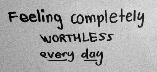 Feeling Worthless Quote 2 Picture Quote #1