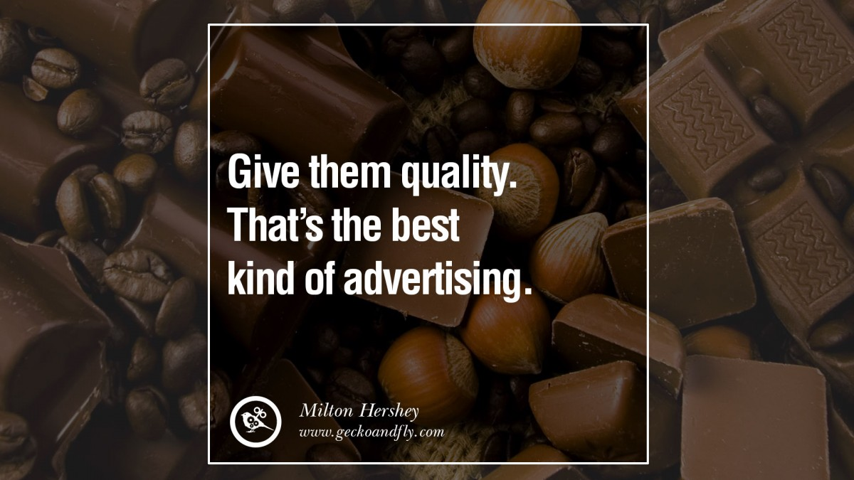 Advertising Quote 1 Picture Quote #1
