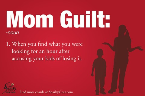 Mommy Guilt Quote 1 Picture Quote #1