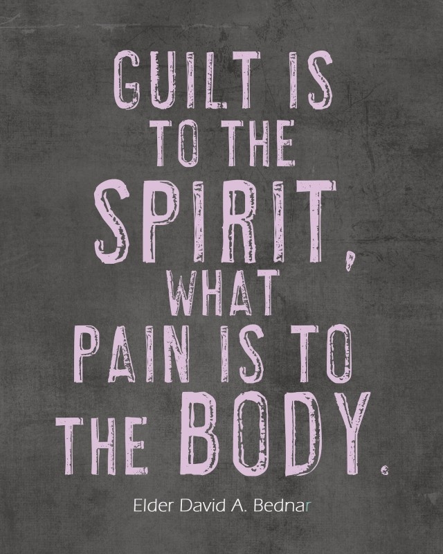 Guilt Quote 3 Picture Quote #1